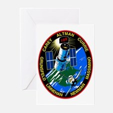 STS-109 Columbia Greeting Cards (Pk of 10)