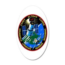 STS-109 Columbia Wall Decal