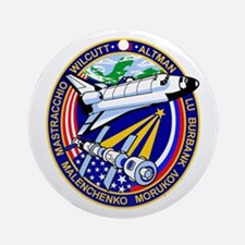STS-106 Ornament (Round)