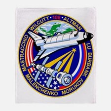 STS-106 Throw Blanket