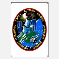 STS-109 Columbia Banner