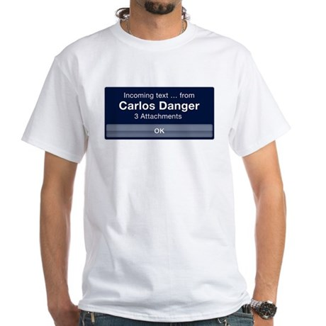 Incoming Text from Carlos Danger T-Shirt