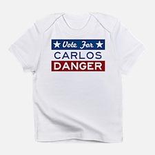 Vote For Carlos Danger Infant T-Shirt