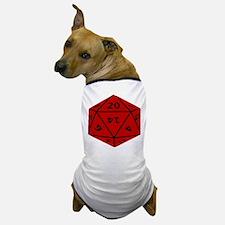 Geeky Dice Dog T-Shirt