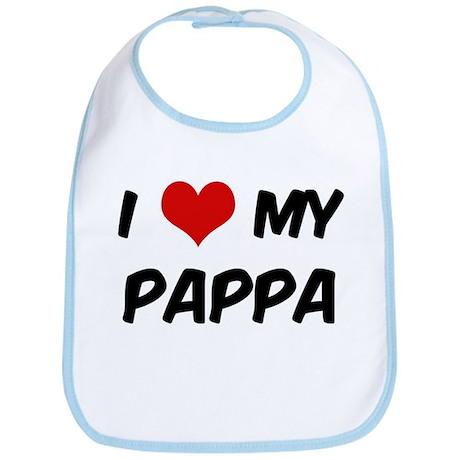 I Love My Pappa Bib