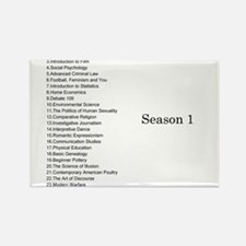 GCC Complete Season 1 Episode List Rectangle Magne