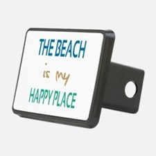 The Beach Is My Happy Place Hitch Cover