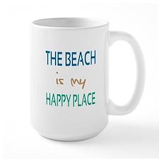 The Beach Is My Happy Place Mug