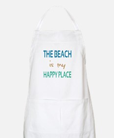 The Beach Is My Happy Place Apron