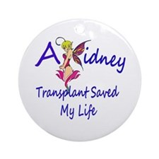 A kidney transplant saved my life fairy Ornament (