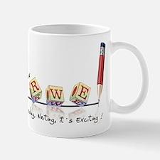Reading, Writing, It's Exciting logo Mug
