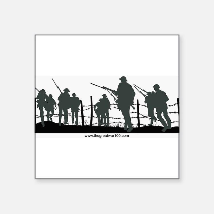 The Great War 100 Sticker