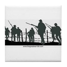 The Great War 100 Tile Coaster