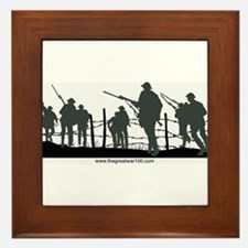 The Great War 100 Framed Tile