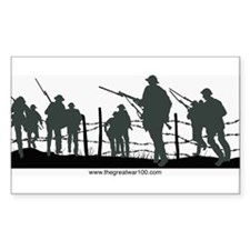 The Great War 100 Decal