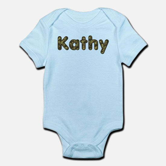 Kathy Army Body Suit