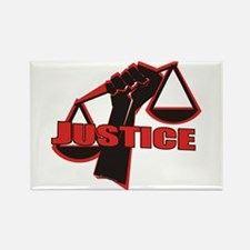 Justice Rectangle Magnet