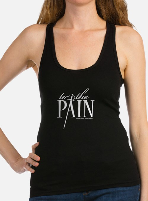 Princess Bride Pain Racerback Tank Top