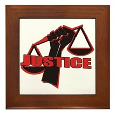 Justice Framed Tile