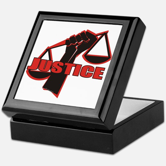 Justice Keepsake Box