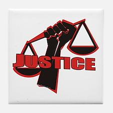 Justice Tile Coaster