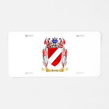 Cortez Aluminum License Plate