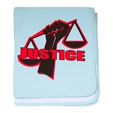 Justice baby blanket