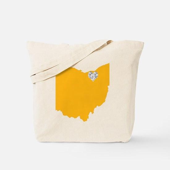 Cute Cleveland Tote Bag