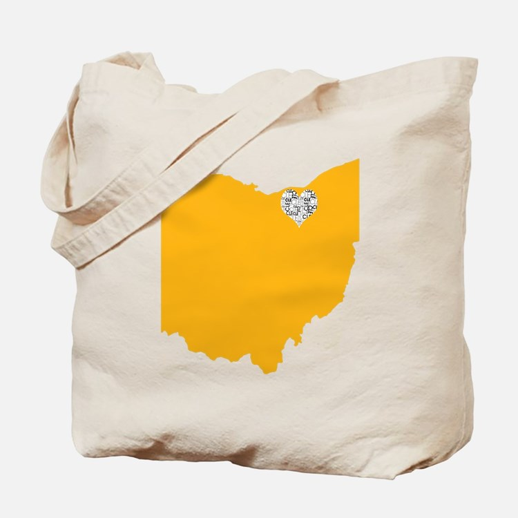 Cute Cleveland ohio Tote Bag