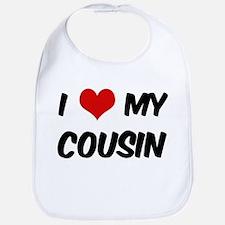 I Love My Cousin Bib