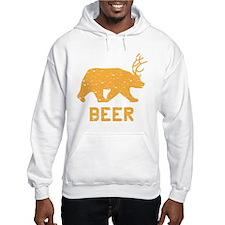 Bear + Deer = Beer Hoodie