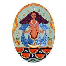 Yemaya Oval Ornament