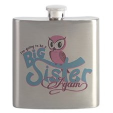 Im going to be a Big Sister Again Flask