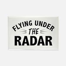 Flying Under the Radar Rectangle Magnet