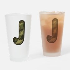 J Army Drinking Glass