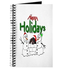 Dachshund Christmas Journal