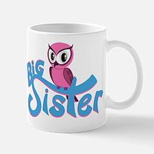 Pink Owl Big Sister Mug