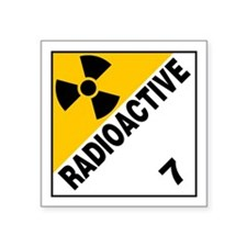 ADR Sticker - 7 Radioactive