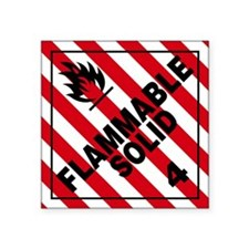 ADR Sticker - 4 Flammable Solid