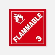 ADR Sticker - 3 Flammable