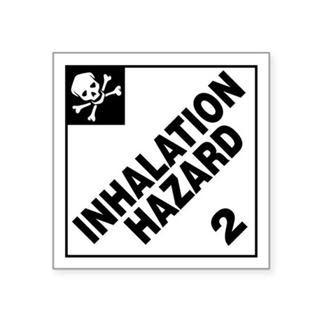 ADR Sticker - 2 Inhalation Hazard