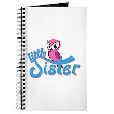 Pink Owl Little Sister Journal