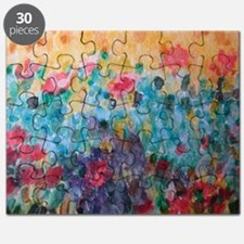 Flowers Everywhere Puzzle