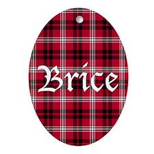 Tartan - Brice Ornament (Oval)
