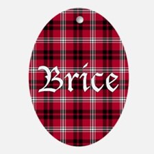 Tartan - Brice Ornament (Oval)