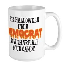 For Halloween Im A Democrat, Now Share All Your Ca