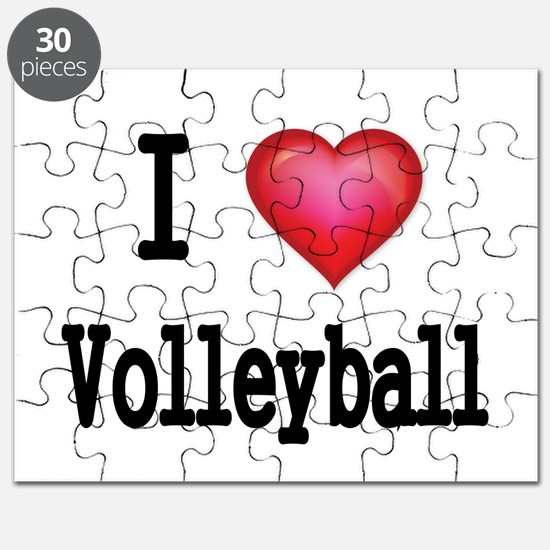 I LOVE MY VOLLEYBALL Puzzle
