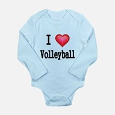 I LOVE MY VOLLEYBALL Body Suit