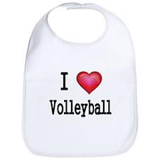 I LOVE MY VOLLEYBALL Bib