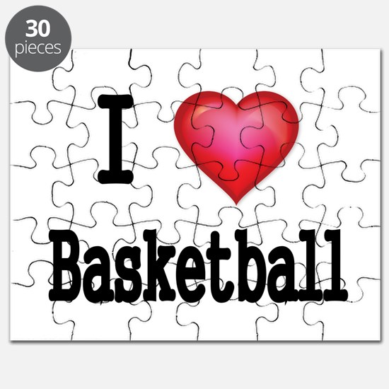 I LOVE MY BASKETBALL Puzzle